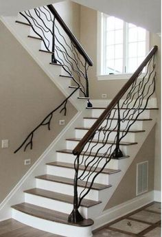 tree branch bannister