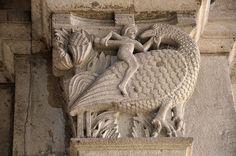 Autun - Cathédrale Saint-Lazare - Un chapiteau