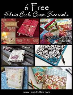 Notebooks and journals make thoughtful gifts for others - and for yourself! And if you add a hand-made cover, it makes the gift all the more personal and s