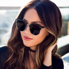 Designer Sunglasses for Women. Checkout the Best Sunglasses to Match with Your Outfit. Discount Sunglasses, Trending Sunglasses, Stylish Sunglasses, Cat Eye Sunglasses, Sunglasses Women, Girls Tumblrs, Polarized Fishing Sunglasses, Fashion Eye Glasses, Designer Eyeglasses