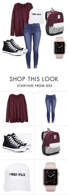 """I need space"" by leeths331 on Polyvore featuring Converse, Victoria's Secret and Nasaseasons"