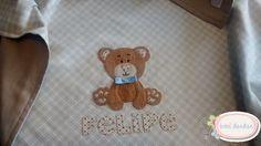 Cueiro menino ursinho