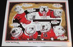 "Georgia Bulldogs Football Dave Helwig ""How 'Bout Them Dawgs"""
