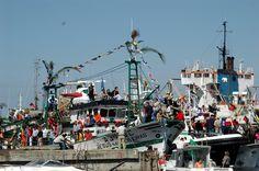 Procissão da Senhora dos Navegantes na ria de Aveiro. Realiza-se todos os anos a 16 de Setembro.