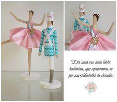 a bailarina e o soldadinho de chumbo Atelier Flor de Tule | Flickr - Photo Sharing!