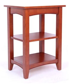 Cherry Shaker Cottage Two-Shelf End Table #zulily #zulilyfinds