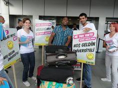 Ercan Havalimanı Öğrenci Karşılama