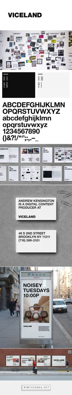 Brand New: New Logo, Identity, and On-Air Package for Viceland by Gretel - created via https://pinthemall.net
