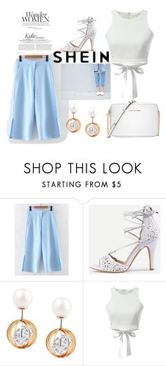 """""""shein style"""" by sheinfashion ❤ liked on Polyvore featuring WithChic and Michael Kors"""