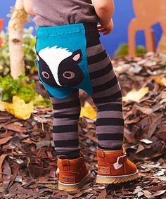 Woodland Skunk Leggings - Infant