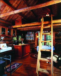 This 12-by-18-foot cabin is near Sturgeon Lake, Minn., and cost about $2,000 to build. The owner built it with local lumber and incorporated used windows, flooring and roofing material.  Read more: http://www.motherearthnews.com/green-homes/inspiring-cabins-cottages.aspx#ixzz2cMnAcWgi