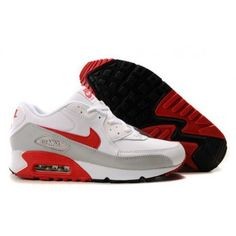 brand new 0a2c8 112ff  61.85 air max 90 grey red,Mens Cheap Nike Air Max 90 Trainers Red