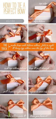 Diy Perfect Bow Pictures, Photos, and Images for Facebook, Tumblr, Pinterest, and Twitter
