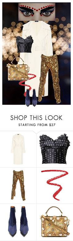 """""""The dot of light"""" by jenna-hanssen ❤ liked on Polyvore featuring Polo Ralph Lauren, Azzaro, Vivienne Westwood, NARS Cosmetics, Toga and Dolce&Gabbana"""