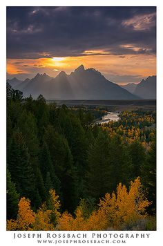 Snake River Overlook, Grand Teton National Park, Wyoming