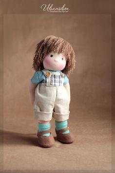 Waldorf handmade toys.  Fair Masters - handmade Waldorf boy Timka.  Handmade.
