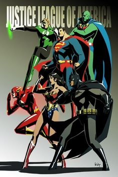 Justice League by Kit