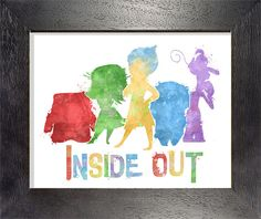 Inside Out 8x10 Poster - DIGITAL DOWNLOAD