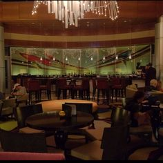 Top of the World lounge, Bay Lake Tower - You really feel like royalty when you are allowed into the inner sanctum. Bay Lake Tower, Disney Resorts, Lounge Seating, Disney World Trip, Top Of The World, Disney Stuff, Restaurants, Royalty, Vacation