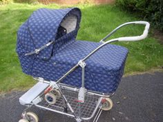 Silvercross  Wayfarer Excel Vintage Pram/Pushchair Baby Transport, Mode Of Transport, Vintage Pram, Retro Vintage, Double Buggy, Silver Cross Prams, Prams And Pushchairs, Baby Prams, Travel System