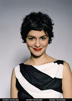 audrey tautou hair color - Google Search