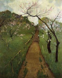 """""""Arthur Wesley Dow - Spring Landscape  """""""