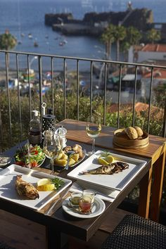 In the picturesque fishing village of Câmara de Lobos, the Vila do Peixe restaurant offers fresh fish and views of the harbor.   A Long Weekend in Magical Madeira
