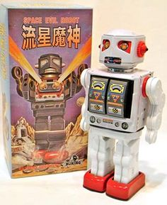 Space Evil Robot White Metal House Japan