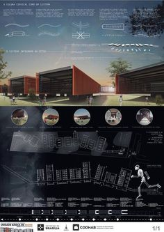 Here are the winning projects and mentions the National Public Architecture Competition for the Basic Health Unit (BHU) to be built in Riacho Fundo II, Federal District. Architecture Panel, Architecture Graphics, Architecture Portfolio, Concept Architecture, Architecture Design, Public Architecture, Chinese Architecture, Futuristic Architecture, Presentation Board Design