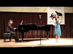 Michelle Balko performs at Kretzer Piano's 2013 Music for the Mind concert featuring the Kretzer Kids.