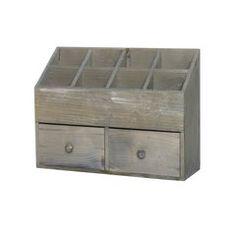 Förvaring fack/lådor trä Panduro