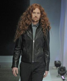 images of bartek borowiec Hair And Beard Styles, Long Hair Styles, Long Hair Beard, Long Hair Models, Beautiful Long Hair, Guy Pictures, Male Models, Red Hair, Shirt Style
