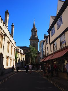 Oxford in the summer Oxford, Street View, Summer, Travel, Summer Time, Viajes, Summer Recipes, Traveling, Oxfords