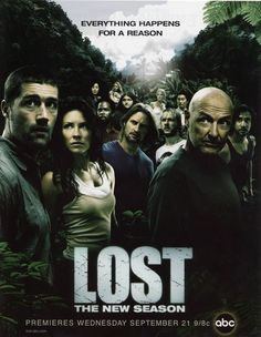 LOST (best TV show EVER if you ignore the last couple episodes of the last season, basically it turn the whole series in a big fat waste..)