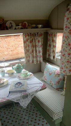 Interior - Martha the Vintage caravan