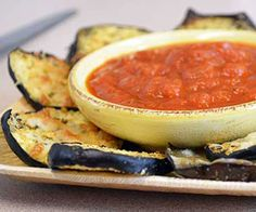 Healthy eggplant recipe: Eggplant chips - Girls Gone Sporty