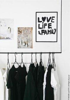 LOVE LIFE and FAMILY print for sale http://rstyle.me/n/ujehi3zen