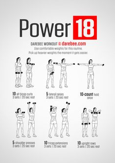 Some upper body and arm training - Trend Motivation Fitness 2020 Darbee Workout, Dumbbell Workout, Dumbbell Exercises, Pilates Workout, Workout Videos, Lifting Workouts, Fat Burning Workout, Body Workouts, Hero Workouts