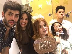New years celebration with matt, esther, harry, shelby, and kat ❤