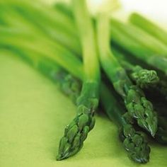 Asparagus' peak season is spring.   different recipes to spice em up...as if you even need to