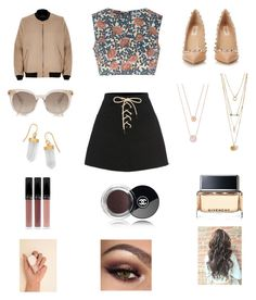 """Untitled #271"" by heather2003 on Polyvore featuring Glamorous, River Island, Valentino, Givenchy, Michael Kors, Chanel and BillyTheTree"
