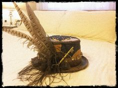 What I've Collected So Far: Handmade Steampunk Hat - bought for costume, will use for decor in the off season (Direct Purchase from Artisan, $65)