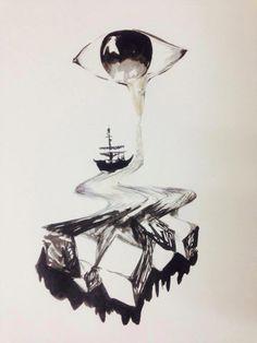 Gloomy sailing