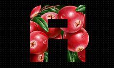 Illustrations of fruits and berries. on Behance Advent Calendar, Berries, Christmas Ornaments, Fruit, Cool Stuff, Greek Yogurt, Holiday Decor, Behance, Photoshop