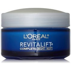 L'Oreal Paris RevitaLift Anti-Wrinkle Firming Night Cream, 1.7 Ounces (610 CZK) ❤ liked on Polyvore featuring beauty products, skincare, face care, face moisturizers and l'oréal paris