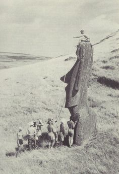 Ile de Pâques, 1955