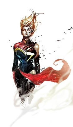 Ms. Captain Marvel Created by Dexter Soy Blog | deviantART I seriously want to frame this like now.