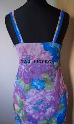 #Prendisole a fiori - dietro da 123ricreo