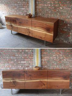 Deco Furniture, Cabinet Furniture, Plywood Furniture, Cool Furniture, Furniture Design, Office Interior Design, Interior Decorating, Modern Sideboard, Rack