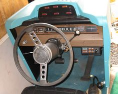 DRIVER'S ED SIMULATORS - I definitely used one of these at Eisenhower High School, Lawton, OK, 1976-77 school year.